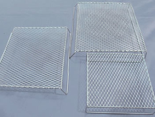Bbq Flattened Expanded Wire Mesh Grill Deep Processing 4.6mm Strand Width